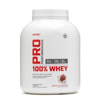 100% Whey - Creamy StrawberryCreamy Strawberry | GNC