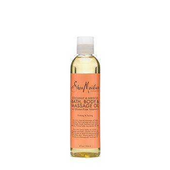Coconut & Hibiscus Bath, Body & Massage Oil  with Gluten-Free Vitamin E | GNC