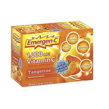 Emergen-C® 1,000mg Vitamin C - Tangerine | GNC
