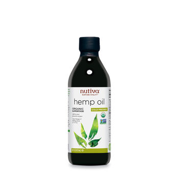 Organic Hemp Oil - Cold Pressed | GNC