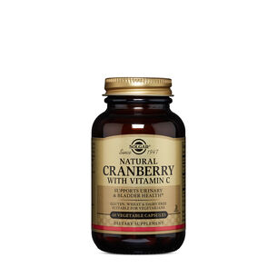 GNC Solgar Natural Cranberry with Vitamin C