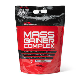 Mass Gainer Complex – Double Chocolate | GNC