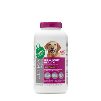 Ultra Mega Hip and Joint Health - Senior Dogs - Beef FlavorBeef | GNC