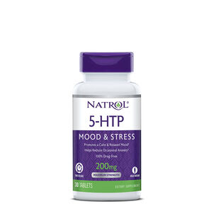 5-HTP 200mg Time Release | GNC