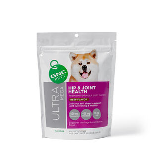 Ultra Mega Hip & Joint Health for All Dogs - Beef Flavor | GNC
