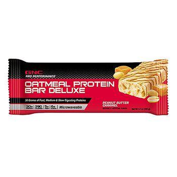 Oatmeal Protein Bar Deluxe - Peanut Butter CaramelPeanut Butter Caramel | GNC
