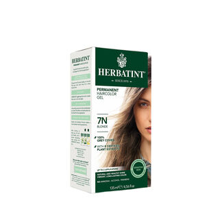 Herbal Haircolor Permanent Gel 7N Blonde | GNC