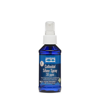 Colloidal Silver Spray 30 PPM | GNC