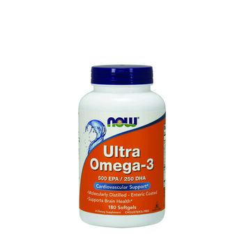 Ultra Omega-3 500 EPA & 250 DHA   GNC