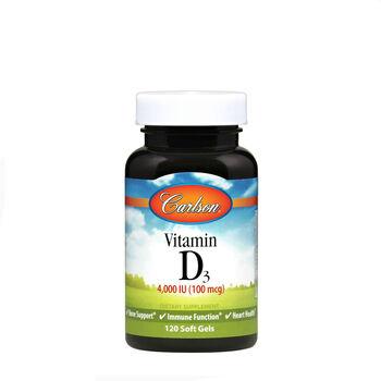 Vitamin D3 - 4000 IU | GNC