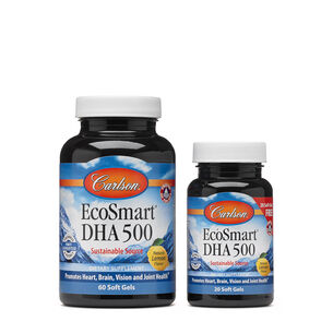 EcoSmart™ DHA 500 - Natural Lemon Flavor | GNC