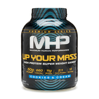 Up Your Mass - Cookies and CreamCookies and Cream | GNC