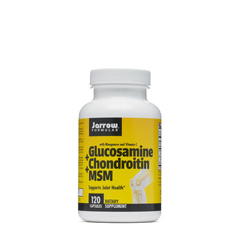 Glucosamine + Chondroitin + MSM | GNC