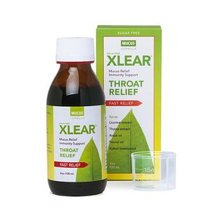 Xlear® Throat Relief - Mucus Formula | GNC