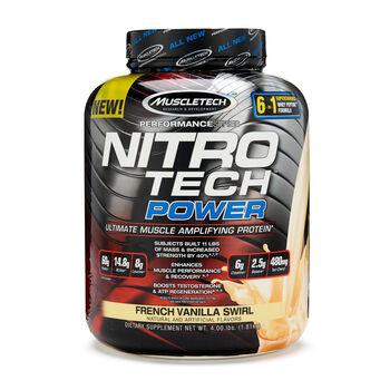 Muscletech 174 Nitro Tech Power French Vanilla Swirl Gnc