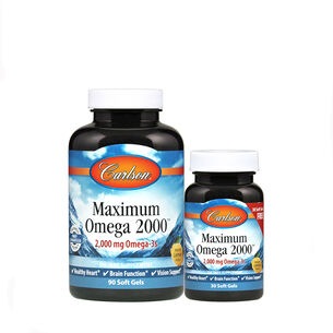 GNC Carlson Maximum Omega 2000