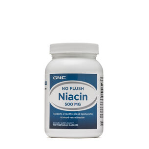GNC No Flush Niacin 500 MG