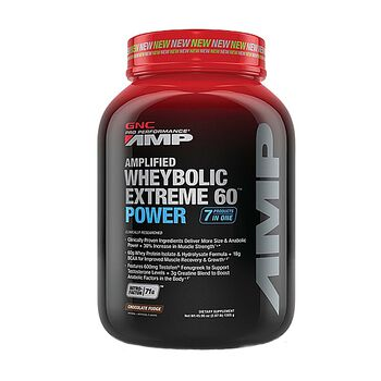 Amplified Wheybolic Extreme 60™ Power - Chocolate Fudge (California Only) | GNC