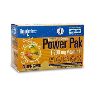 liquimins™ Electrolyte Stamina Power Pak - Orange Blast | GNC