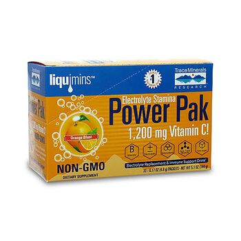 liquimins™ Electrolyte Stamina Power Pak - Orange Blast | GNC