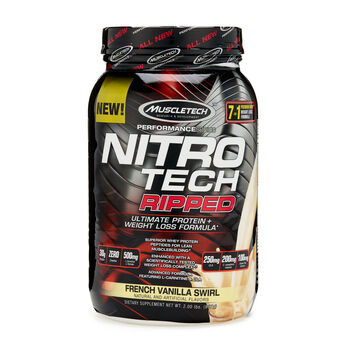 Nitro-Tech RIPPED™ - French Vanilla SwirlFrench Vanilla Swirl | GNC