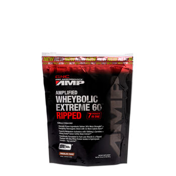 Amplified Wheybolic Extreme 60™ Ripped - Chocolate FudgeChocolate Fudge | GNC