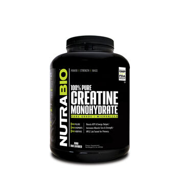 100% Pure Creatine Monohydrate - Raw/Unflavored | GNC