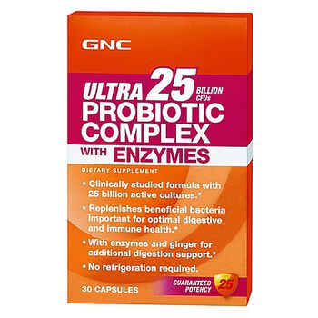 Ultra 25 Probiotic Complex with Enzymes | GNC