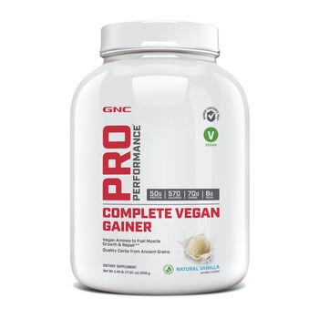 Complete Vegan Gainer - Natural Vanilla   GNC