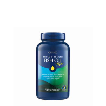 Triple Strength Fish Oil   Mini | GNC