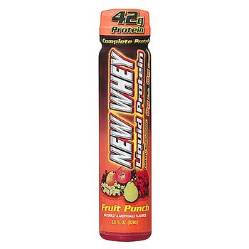 New-Whey 42™  Liquid Protein - Fruit PunchFruit Punch | GNC