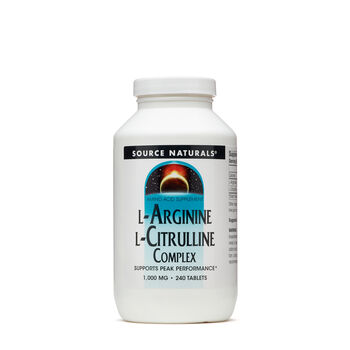 L-Arginine L-Citrulline Complex 1000mg | GNC