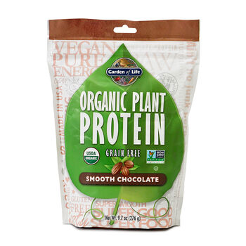 Organic Plant Protein - Smooth Chocolate | GNC