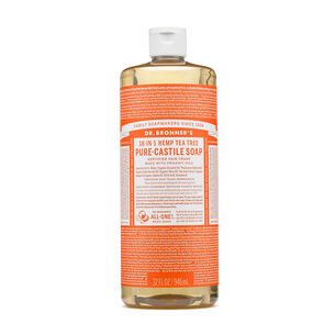 All-One Hemp Tea Tree Pure-Castile Soap | GNC