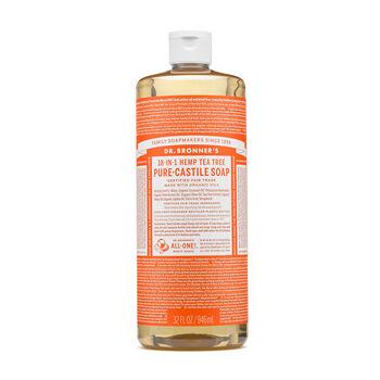 Hemp tea tree pure castile soap