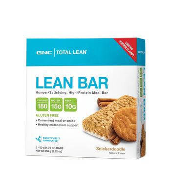 Gnc Total Lean Lean Bar Snickerdoodle Limited Edition