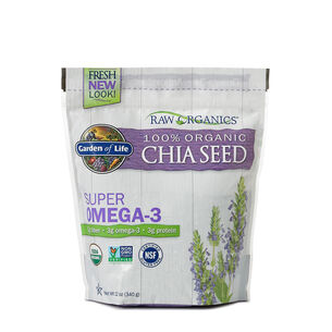 Raw Organics ™ Super Omega 3 Organic Chia Seed | GNC