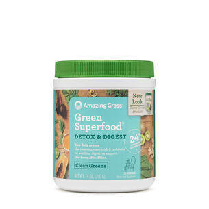 Green Superfood® Detox & Digest - Clean Greens | GNC