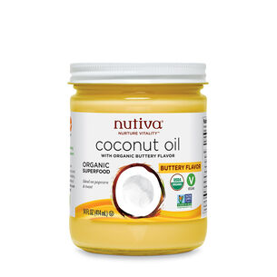Coconut Oil with Non-Dairy Butter Flavor | GNC