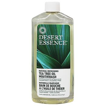 Natural Refreshing Tea Tree Oil Mouthwash | GNC