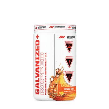 Galvanized Strength Powerful 2-In-1 Pre-Workout + Creatine - Orange Soda   GNC