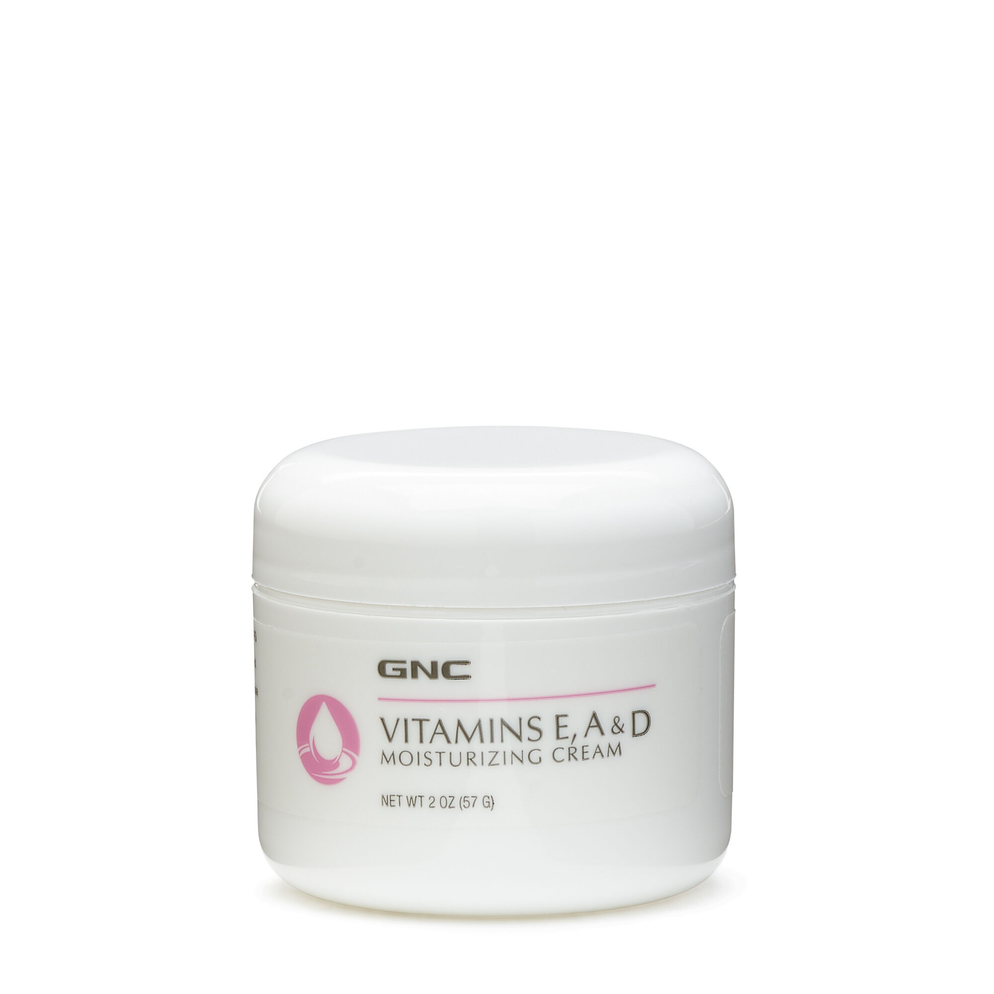 Vitamins E A & D Moisturizing Cream - 2 Oz(s) - Gnc - Lotions & Creams