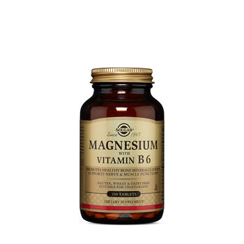 Magnesium with Vitamin B6 | GNC