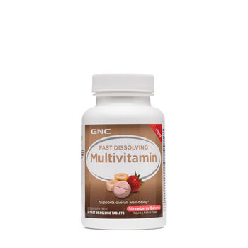 Fast Dissolving Multivitamin - Strawberry Banana | GNC