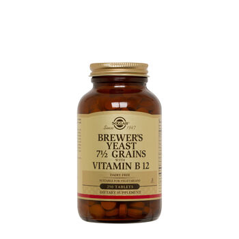 Brewer's Yeast 7 1/2 Grains with Vitamin B12 | GNC