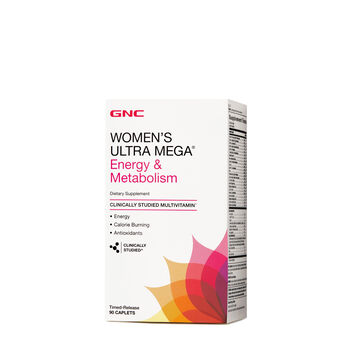 Ultra Mega® Energy & Metabolism | GNC