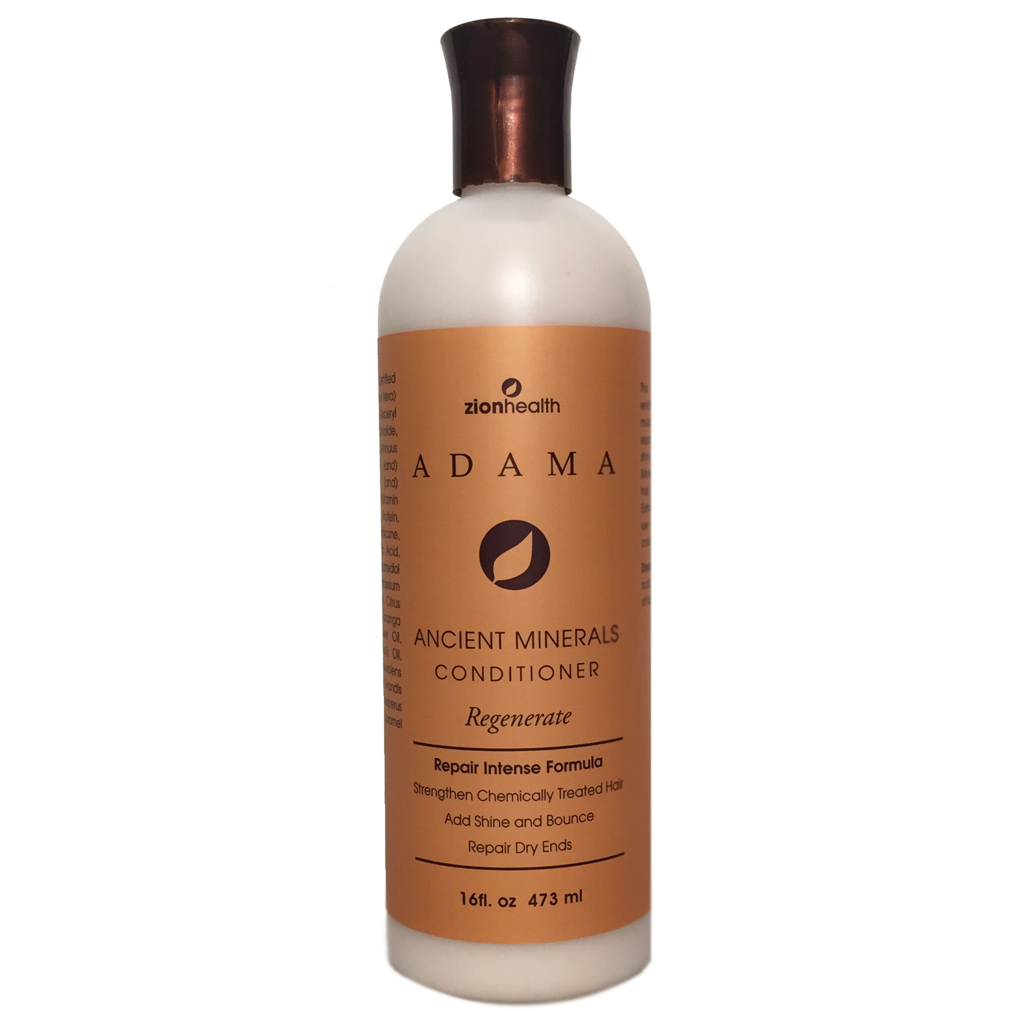 Ancient Minerals Conditioner Geranium Rose 16 Oz(s) Zion Health Shampoo & Conditioner