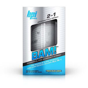 BAM!™ - Fierce Blue Lemon | GNC