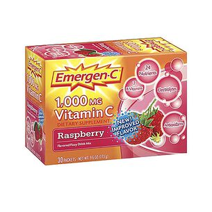 Emergen-C® 1,000 MG Vitamin C - Raspberry | GNC