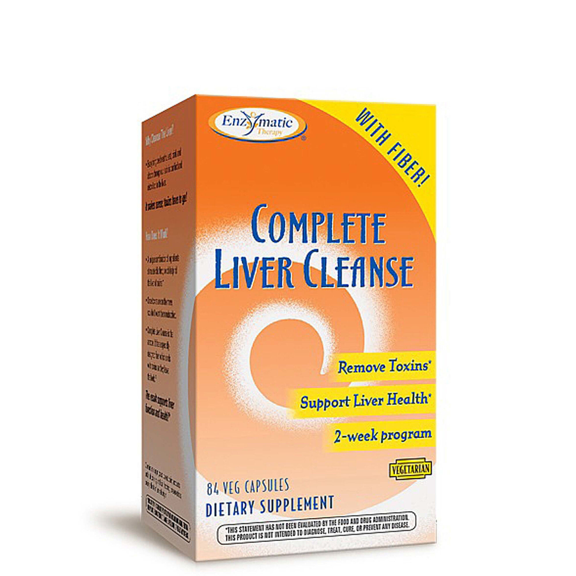 Complete Liver Cleanse - 84 Capsules - Enzymatic Therapy?